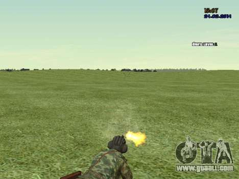 Tankman for GTA San Andreas fifth screenshot
