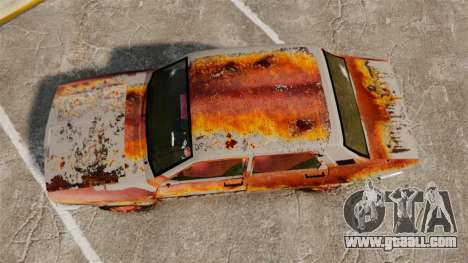 Renault 12 Toros v2.0 Rusty for GTA 4 right view