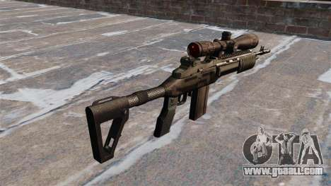 Automatic rifle Mk 14 EBR for GTA 4 second screenshot