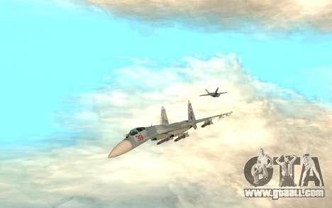 Su 33 for GTA San Andreas