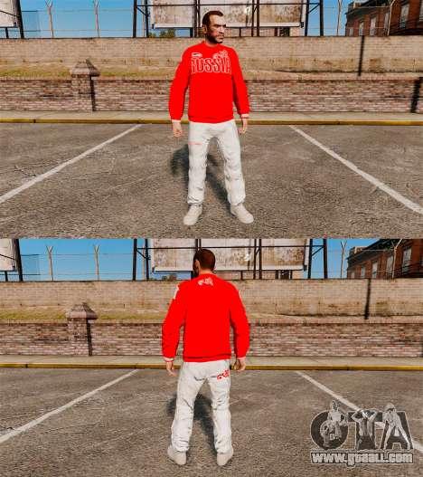 Clothing-Bosco Sport- for GTA 4 third screenshot