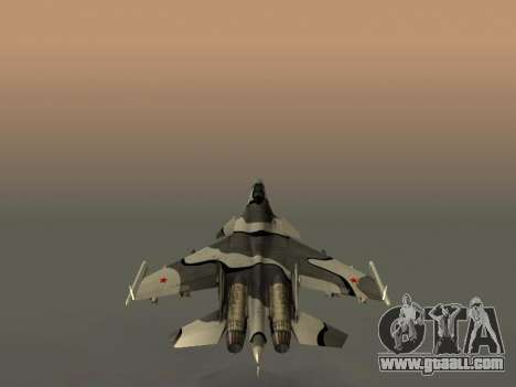Su 33 for GTA San Andreas wheels