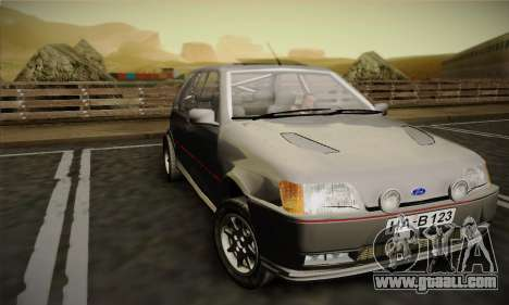 Ford Fiesta Mk3 XR2i for GTA San Andreas left view