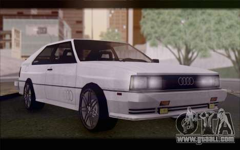 Audi S1 Quattro for GTA San Andreas