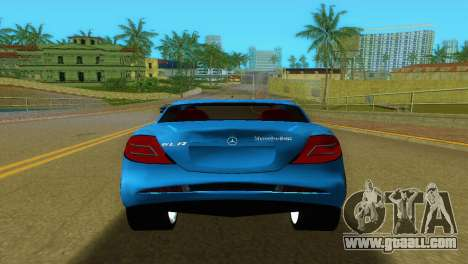 Mercedes-Benz SLR McLaren for GTA Vice City back view