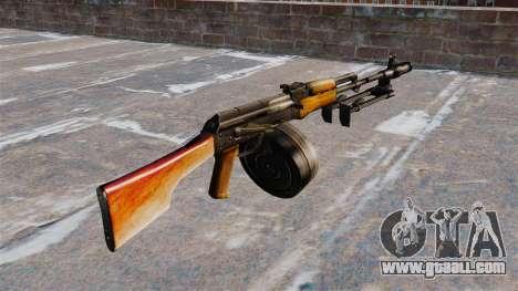 The RPK-74 light machine gun for GTA 4 second screenshot