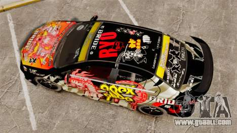 Mitsubishi Lancer Evolution X Ryo King for GTA 4 right view