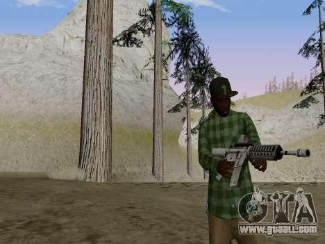 The Grove Street gang member of GTA 5 for GTA San Andreas second screenshot