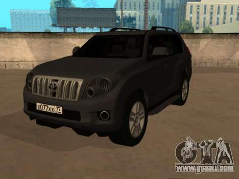 Toyota Land Cruiser Prado 2012 for GTA San Andreas
