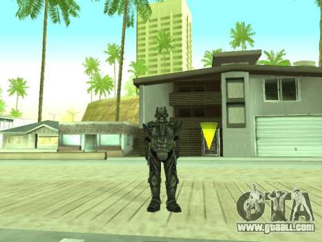 New skin from Fallout 3 for GTA San Andreas second screenshot