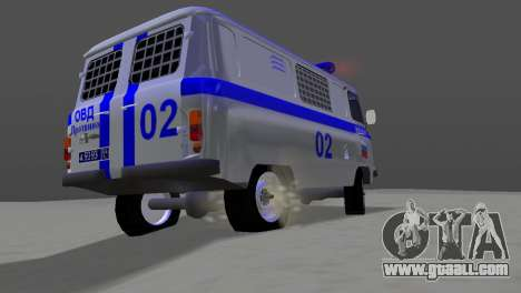 UAZ-3741 AUMONT for GTA Vice City right view