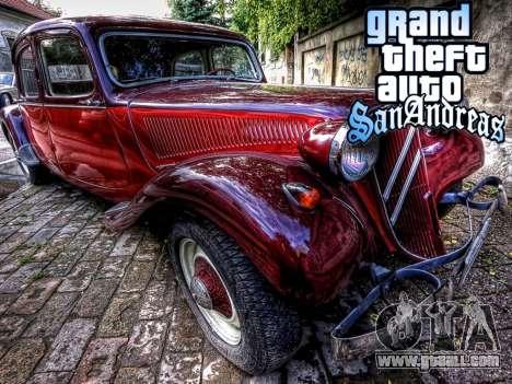 New loadscreen Old Cars for GTA San Andreas seventh screenshot