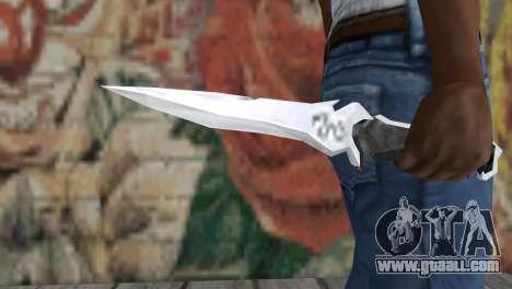 Knife Krauzera for GTA San Andreas third screenshot