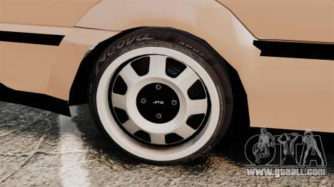 Volkswagen Saveiro G3 SuperSurf for GTA 4 inner view