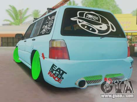 Subaru Forester JDM for GTA San Andreas back left view