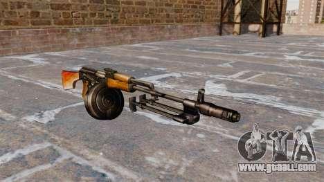 The RPK-74 light machine gun for GTA 4