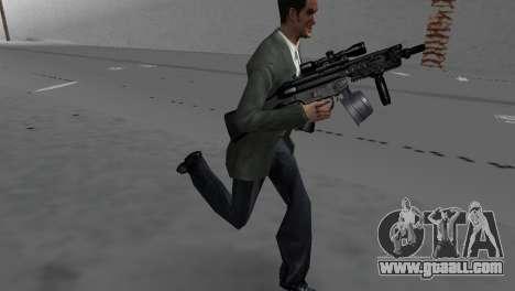 Custom MP5 for GTA Vice City third screenshot