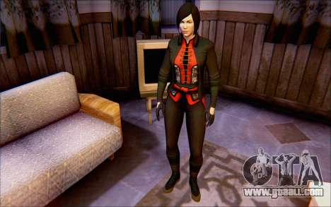 Lady Shiva in the game Batman Arkham Origins for GTA San Andreas second screenshot