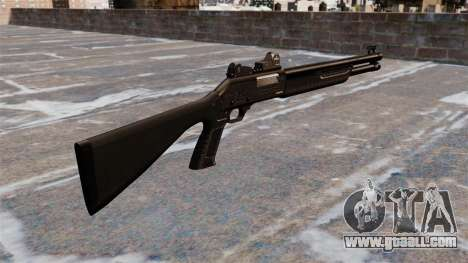 Tactical shotgun Fabarm SDASS Pro Forces for GTA 4 second screenshot