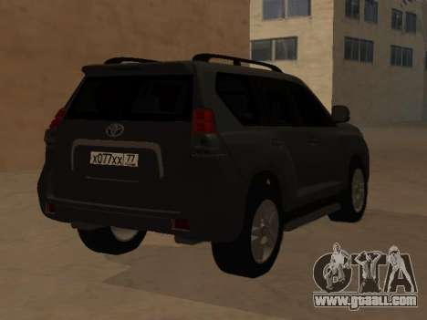 Toyota Land Cruiser Prado 2012 for GTA San Andreas left view