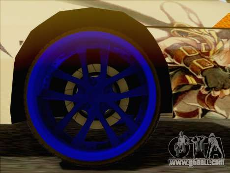 Uranus Grand Chase Texture for GTA San Andreas right view