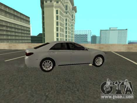 Toyota Mark X for GTA San Andreas back view