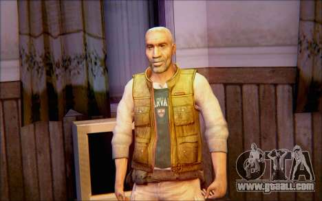 Eli from Half Life 2 for GTA San Andreas