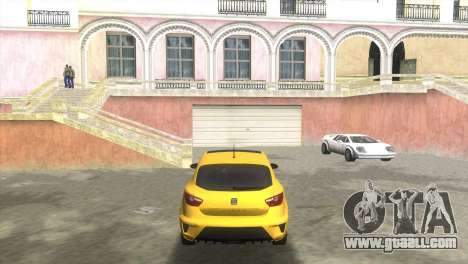Seat Ibiza Cupra for GTA Vice City back left view