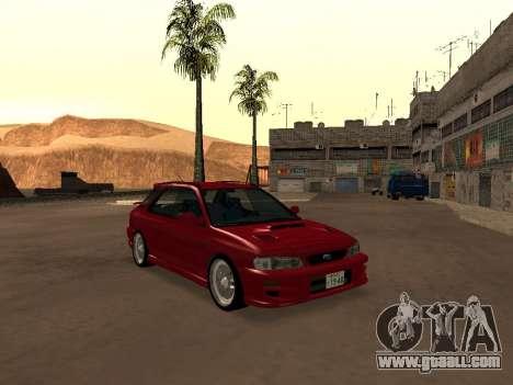 Subaru Impreza Wagon for GTA San Andreas