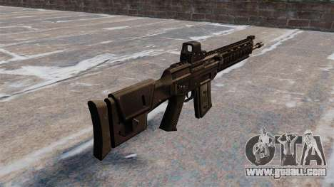 Automatic rifle SIG SG 751 for GTA 4 second screenshot