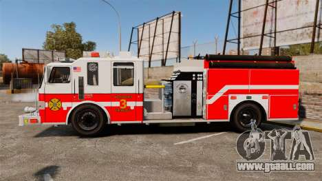 Firetruck Woonsocket [ELS] for GTA 4 left view