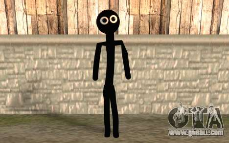People-stick for GTA San Andreas