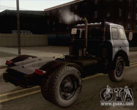 MAZ 5431 for GTA San Andreas left view
