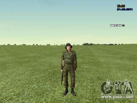 Tankman for GTA San Andreas sixth screenshot