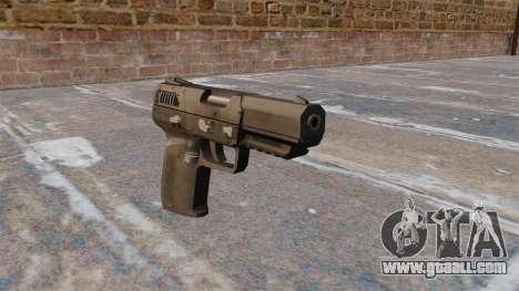 Self-loading pistol FN Five-seveN MW3 for GTA 4