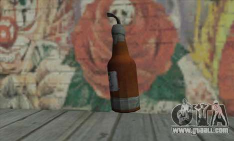 Molotov cocktail of GTA V for GTA San Andreas second screenshot