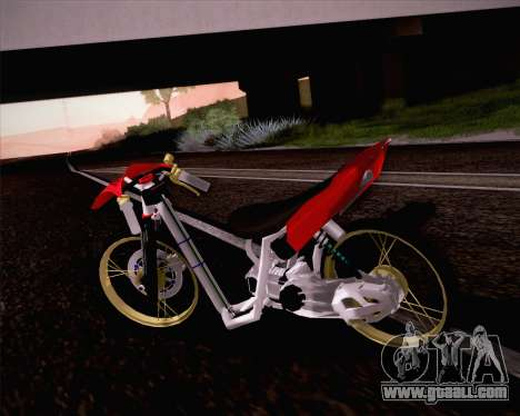 Yamaha Mio for GTA San Andreas left view