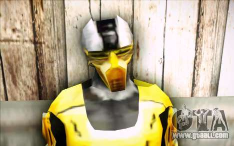 Cyrax for GTA San Andreas third screenshot