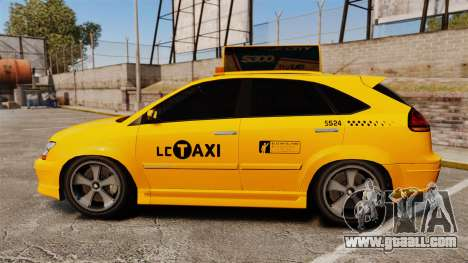 Habanero Taxi for GTA 4 left view