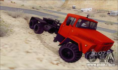 KrAZ 260v for GTA San Andreas right view