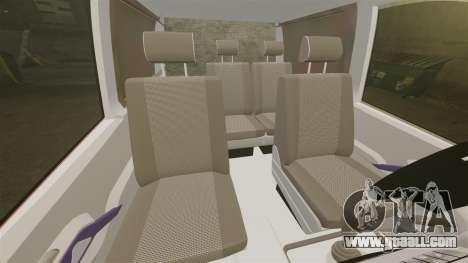 Mercedes-Benz Vito Metropolitan Police [ELS] for GTA 4 inner view