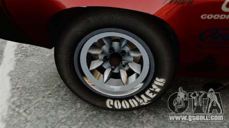 Plymouth Cuda AAR 1970 for GTA 4 back view