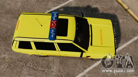 Range Rover Vogue Brannvesenet for GTA 4 right view