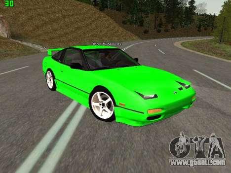 Nissan 240SX Drift Version for GTA San Andreas