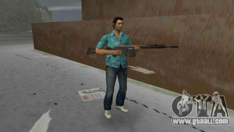 H&K G3A3 for GTA Vice City second screenshot