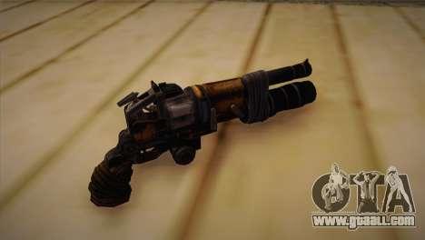 The gun from Bulletstorm for GTA San Andreas second screenshot