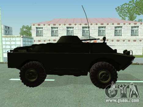 BRDM 2 for GTA San Andreas back view