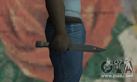 Knife for GTA San Andreas third screenshot
