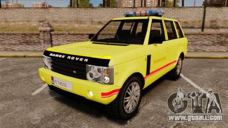Range Rover Vogue Brannvesenet for GTA 4