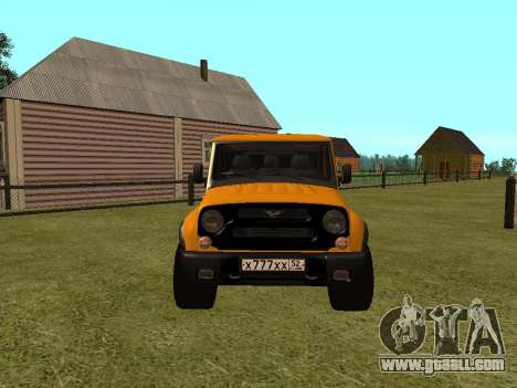 UAZ-3159 Bars for GTA San Andreas right view